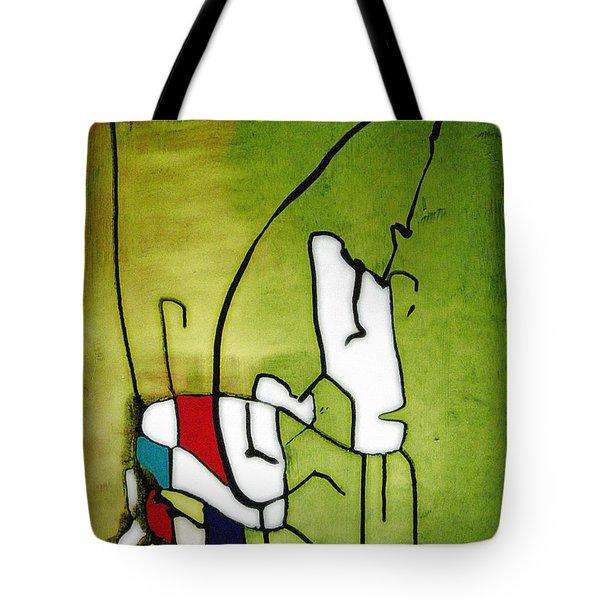 Mi Caballo 2 Tote Bag by Jeff Barrett