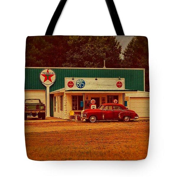 Mi Cr B15 Texaco Tote Bag