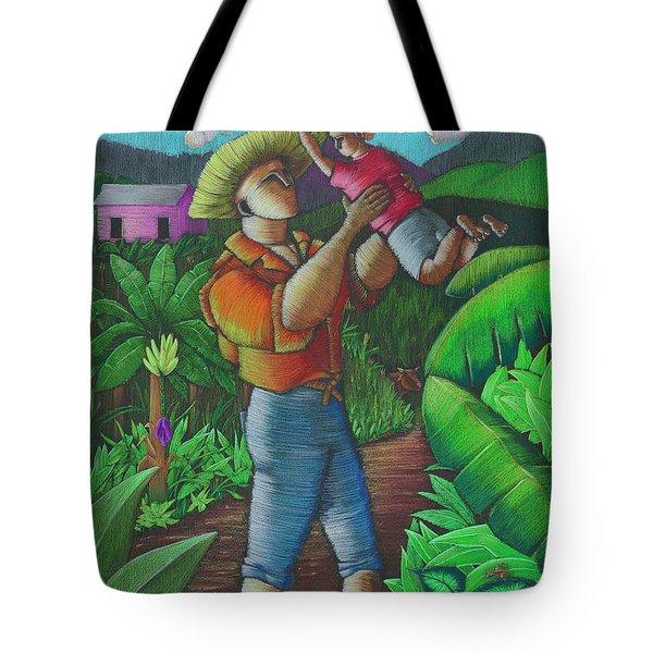 Mi Futuro Y Mi Tierra Tote Bag