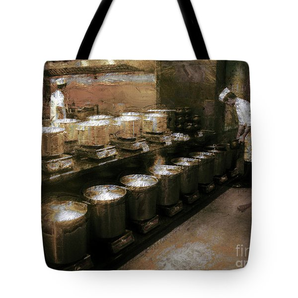 Mi Kitchen Tote Bag by Jack Gannon