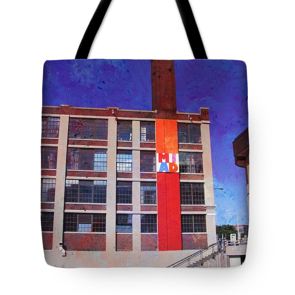 Miad 2 W Paint Tote Bag