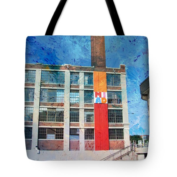 Miad 3 W Paint Tote Bag