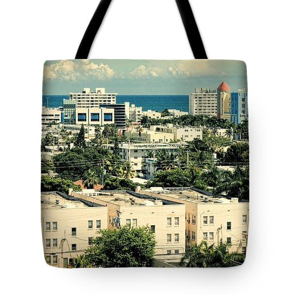 Miami Beach-0156 Tote Bag