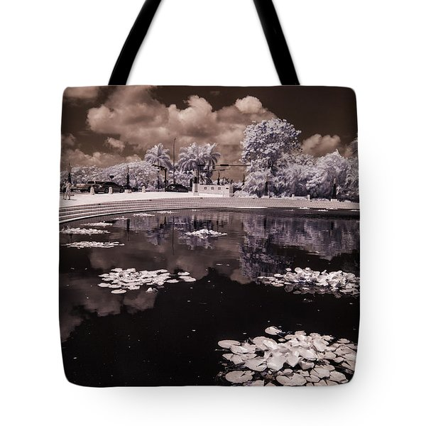 Miami Beach Lake Tote Bag