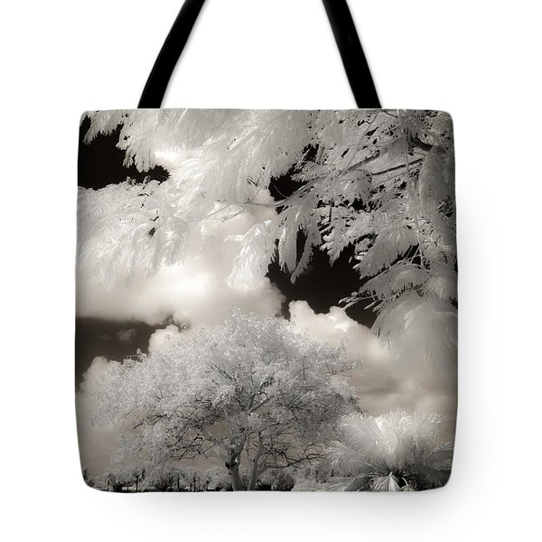 Miami Beach Park Tote Bag