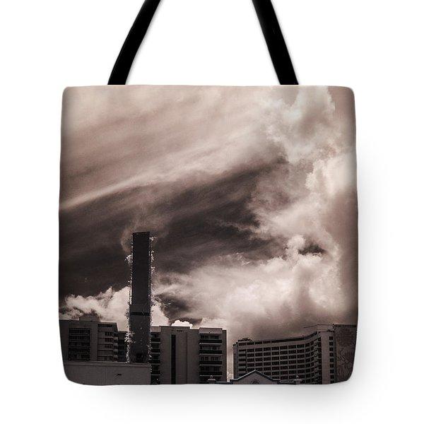Miami Beach Sky Tote Bag