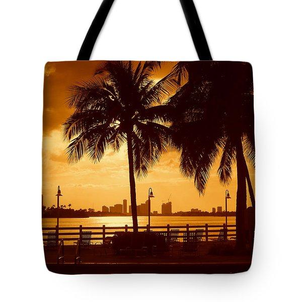 Miami South Beach Romance II Tote Bag