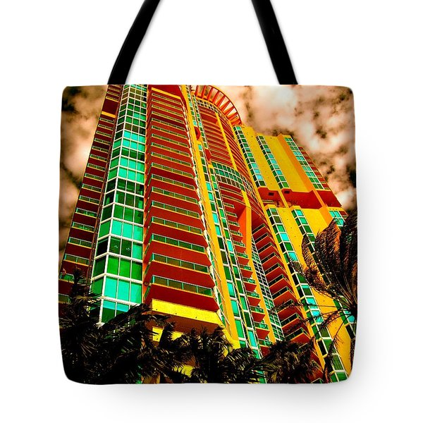 Miami South Pointe II Highrise Tote Bag