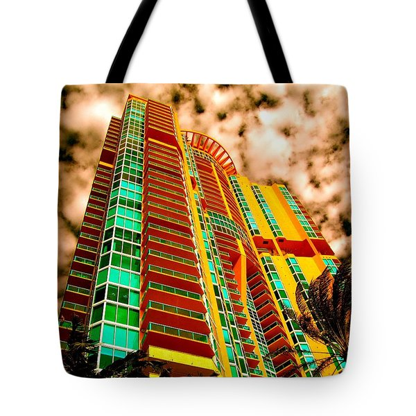 Miami South Pointe II Tote Bag