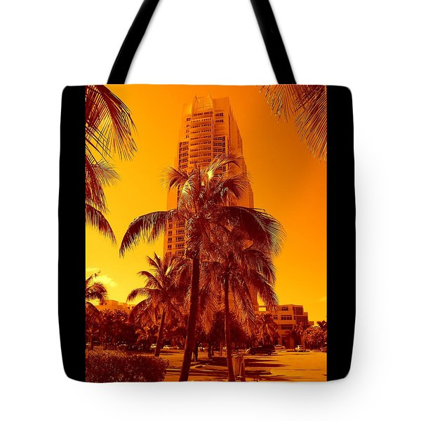 Miami South Pointe Iv Tote Bag