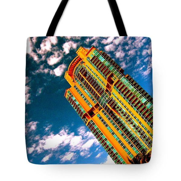 Miami South Pointe Highrise Tote Bag