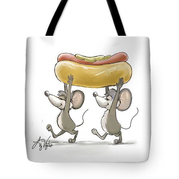 Mic And Mac's Picnic Tote Bag