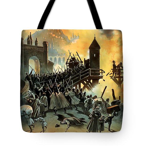 Micael Strogoff Tote Bag by Terry Reynoldson