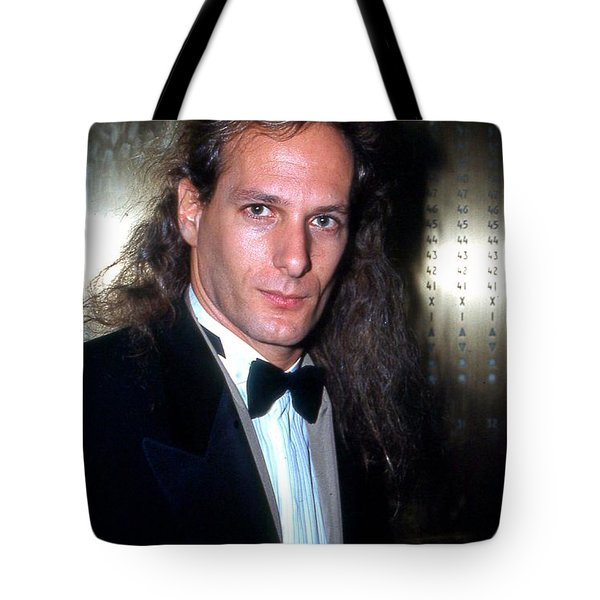 Michael Bolton 1990 Tote Bag by Ed Weidman