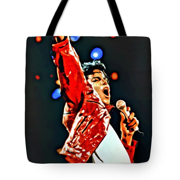 Michael Tote Bag by Florian Rodarte
