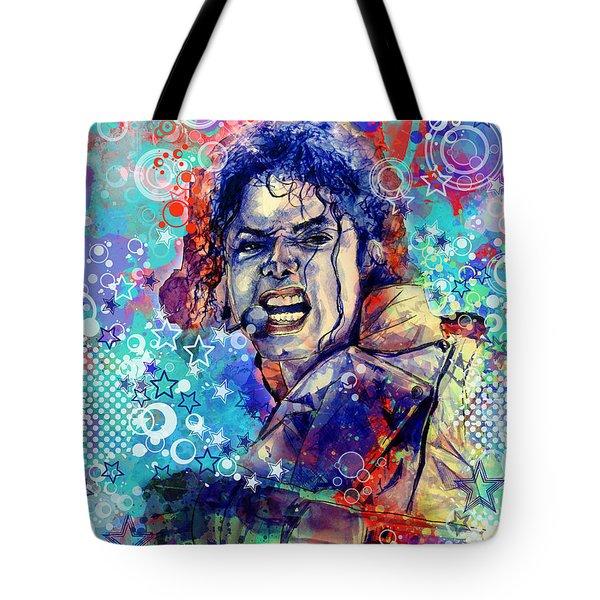Michael Jackson 11 Tote Bag