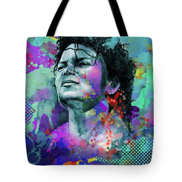 Michael Jackson 12 Tote Bag