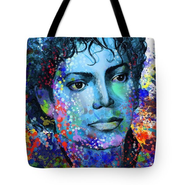 Michael Jackson 14 Tote Bag by Bekim Art