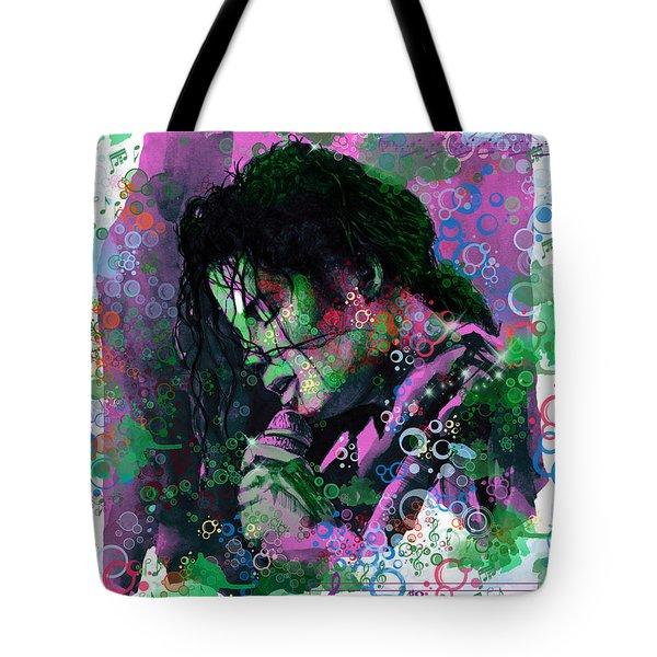 Michael Jackson 16 Tote Bag by Bekim Art