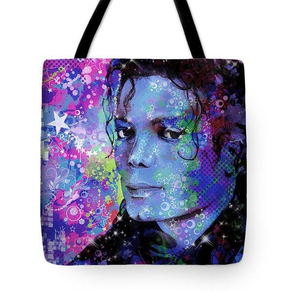 Michael Jackson 17 Tote Bag by Bekim Art