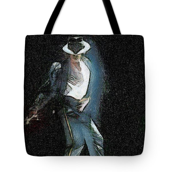 Michael Jackson Tote Bag by Georgi Dimitrov