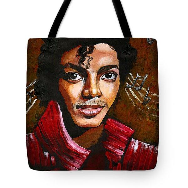 Michael Jackson Tote Bag