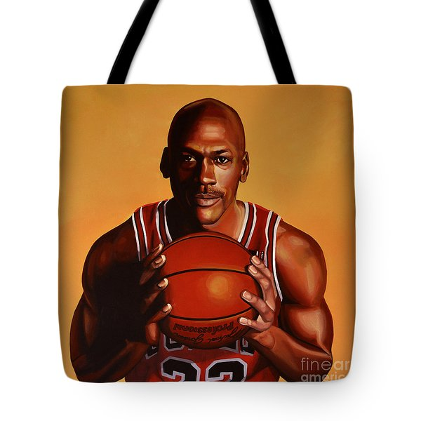 Michael Jordan 2 Tote Bag