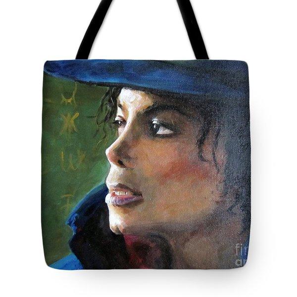 Michael Joseph Jackson Tote Bag