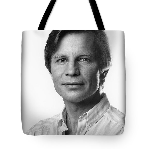 Tote Bag featuring the photograph Michael York by Mark Greenberg