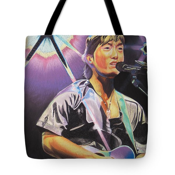 Micheal Kang Tote Bag by Joshua Morton