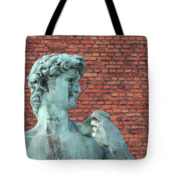 Michelangelos David Tote Bag