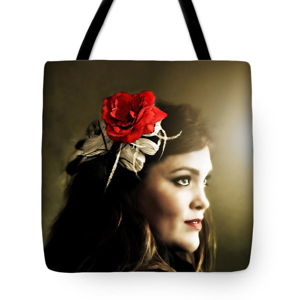 Michelle Bailey Tote Bag by Ally  White