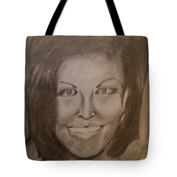 Michelle Obama Tote Bag by Irving Starr