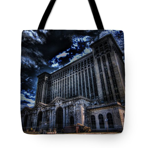 Michigan Central Station Hdr Tote Bag