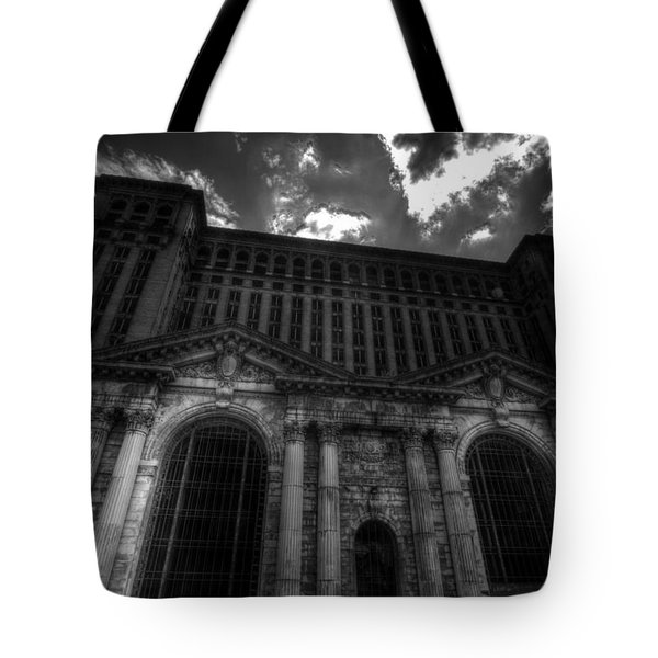 Michigan Central Station Highrise Tote Bag
