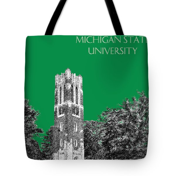 Michigan State University - Forest Green Tote Bag