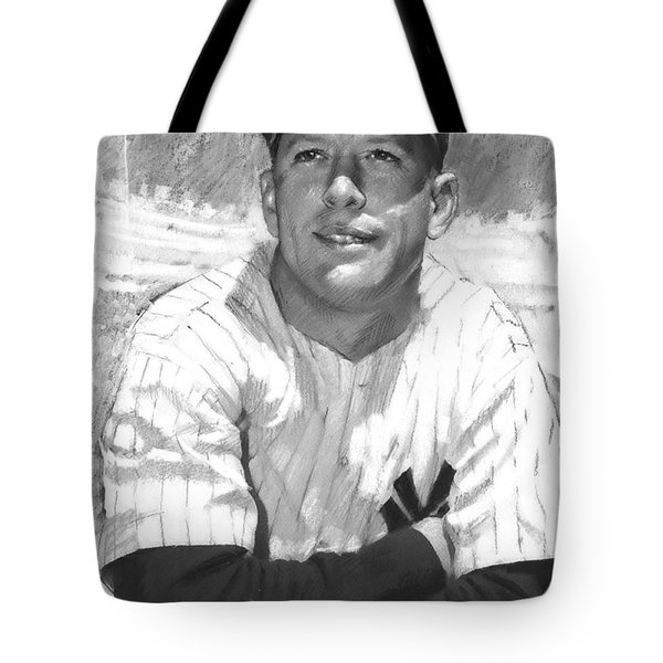 Mickey Mantle Tote Bag