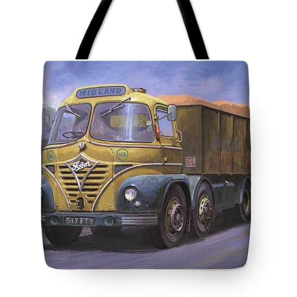 Mickey Mouse Foden. Tote Bag by Mike  Jeffries