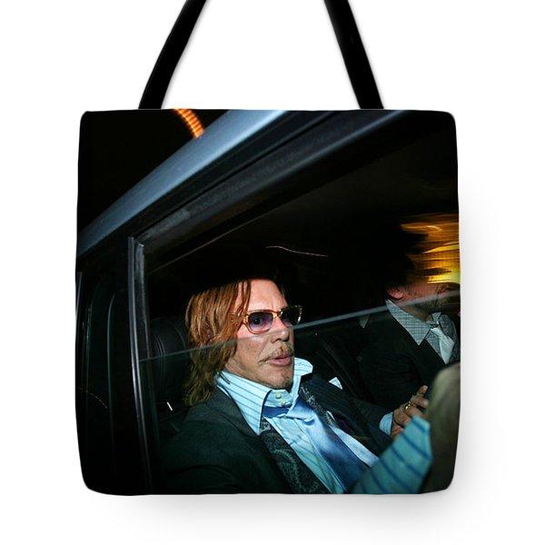 Mickey Rourke  Tote Bag