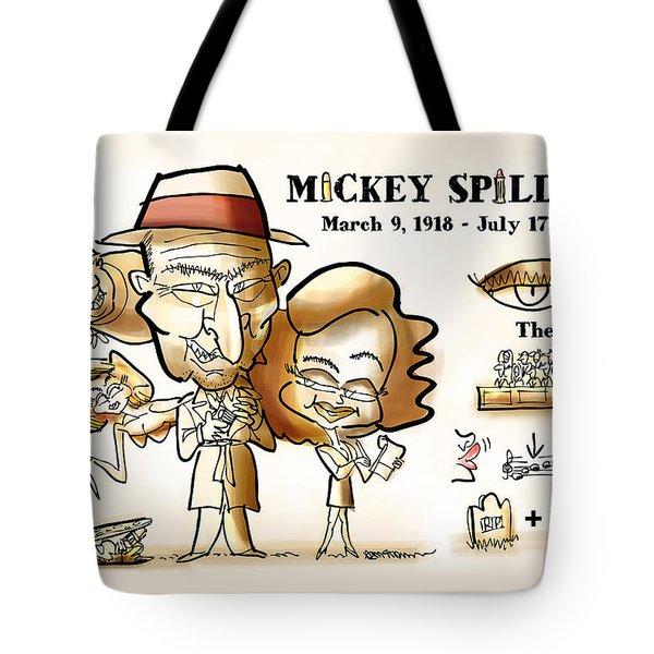 Mickey Spillane Tote Bag