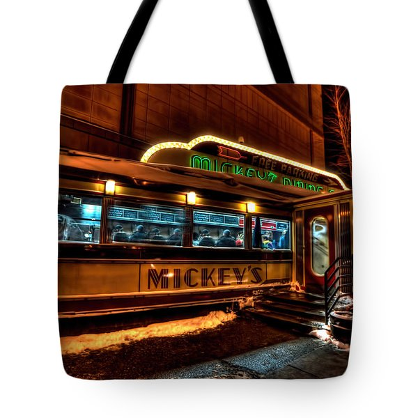 Mickey's Diner St Paul Tote Bag