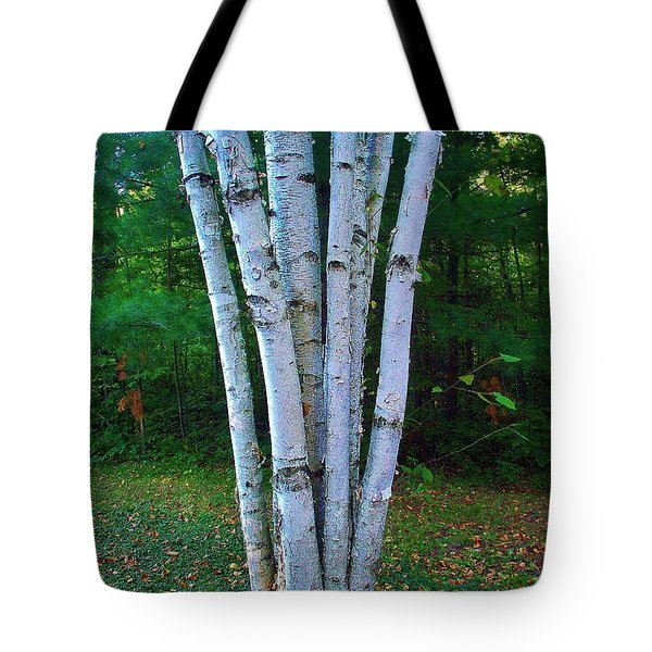 Tote Bag featuring the photograph Micro-grove by Daniel Thompson