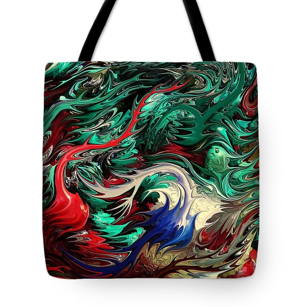 Micro Life By Rafi Talby Tote Bag by Rafi Talby