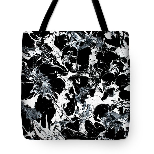 Microscopic Alien Fish Are Eating Away At My Brain Tote Bag