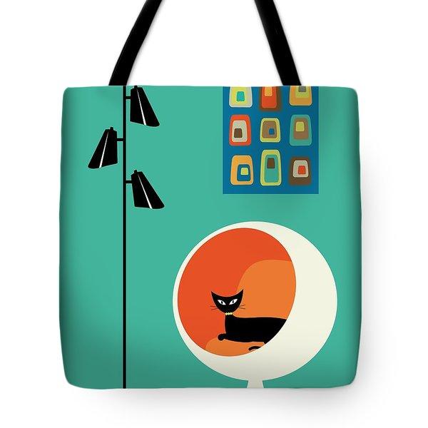 Mid Century Mini Oblongs Tote Bag