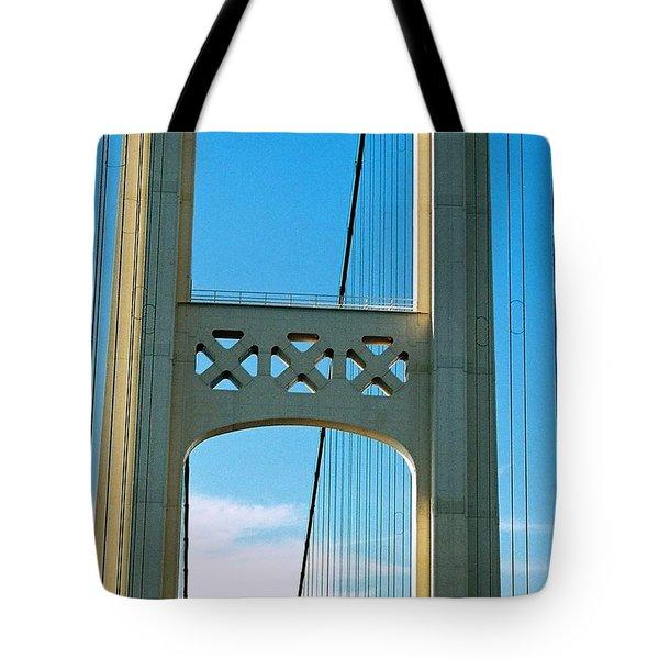 Mid Span Tote Bag by Daniel Thompson