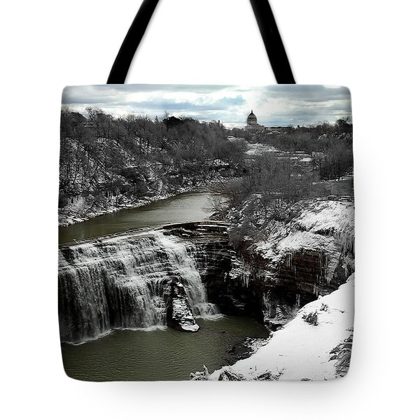 Middle Falls Rochester Ny Tote Bag