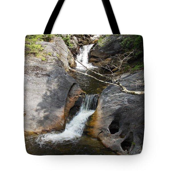 Middle Kent Falls Tote Bag