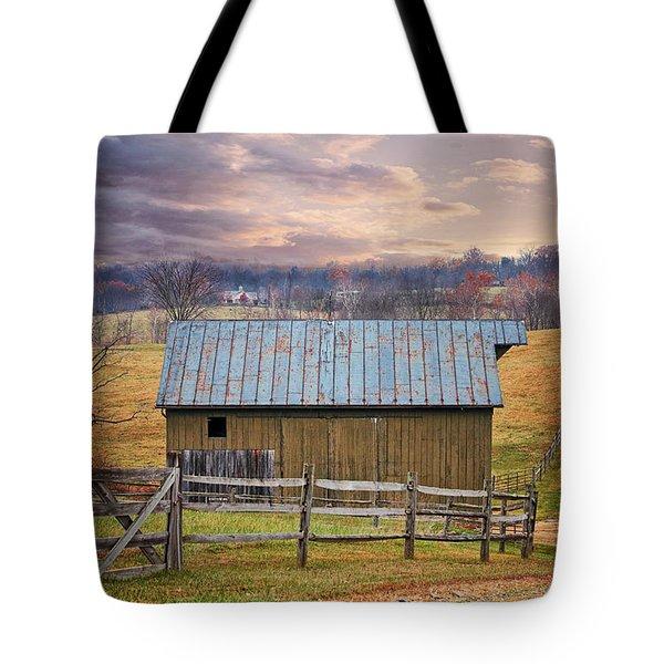 Middleburg Virginia Countryside Tote Bag