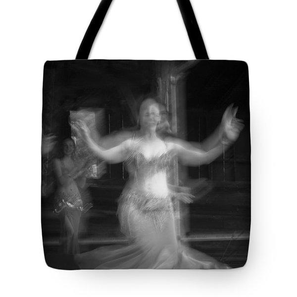Mideastern Dancing 7 Tote Bag
